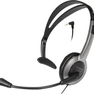 Wired Headset Panasonic RP-TCA430 Black 2.5mm compatible with Panasonic