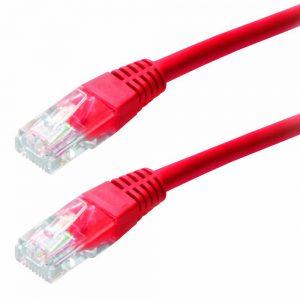 Patch Cable Jasper CAT5E UTP 1m Red