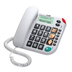 Telephone Maxcom KXT480 White with Lcd