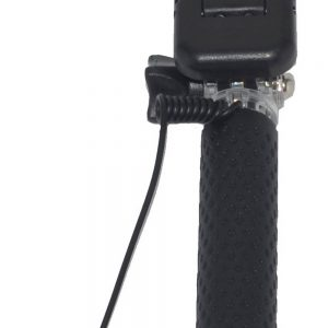 Selfie Stick Ancus Colour Black with Jack Cable 3.5mm (Closed 13.5cm