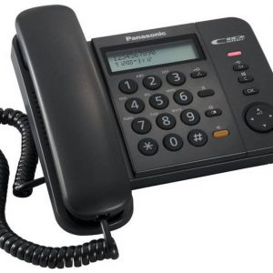 Panasonic KX-TS580EX2B Black with Speaker Phone