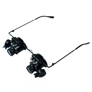 Magnifying Headlamp 9892A-II 20x with Led in Eyeglass Frame