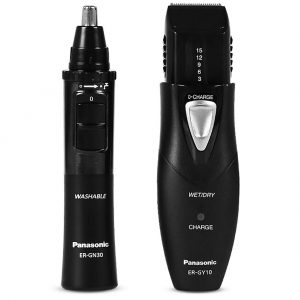 Rechargeable Men's Body and Face Grooming Kit Panasonic ER-GY10CM504 Black