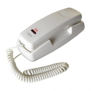 Telephone WiTech WT-5001ALM White with SOS Button and 10 Memories
