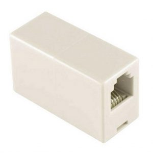Telephone Socket Splitter RJ9 Female to Female