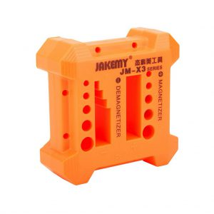 Magnetizer - Demagnetizer Tool Jakemy JM-X3 with 12 Different Size Recess