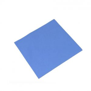 High Thermally Conductive Silicone Pad Karefonte 1x25x25 mm Blue