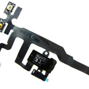 Jack Connector Apple iPhone 4S with Volume and Mute Button Black OEM Type A