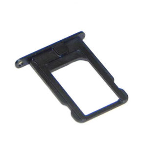 Sim Card Tray Sim Apple iPhone 5 Black Original