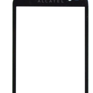 Digitizer Alcatel OT-991 without Tape Black Original
