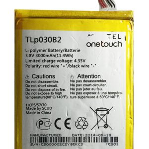 Battery Alcatel TLp030B2 for One Touch Pop S7 OT-7045Y Original Bulk