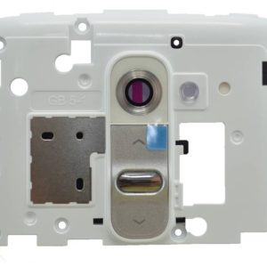 Camera Cover LG G2 D802 White Original ACQ86814002