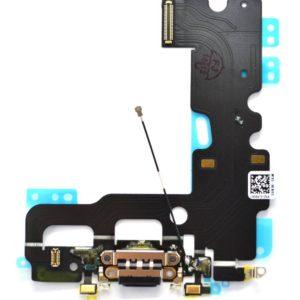 Plugin Connector Apple iPhone 7 with Microphone Black Original