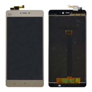 Original LCD & Digitizer Xiaomi Mi 4S Gold without Frame (Dimension:135mm)