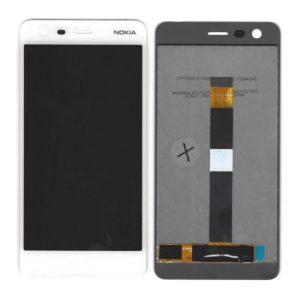 LCD & Digitizer Nokia 2 Dual White without Frame