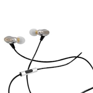 Hands Free ACC+ Soul Pro Stereo Earphones 3.5mm Black with Micrphone and Answer/Mute Button