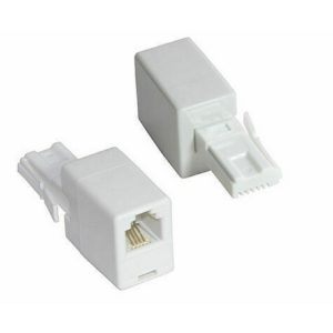 Telephone Socket Jasper RJ11 Female to BT (UK) Male