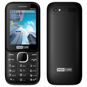 "Maxcom MM143 3G (Dual Sim) 2.4"" with Camera"