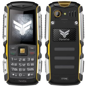 "FlameFox Stone (Dual Sim) 2"" IP67 with Bluetooth"