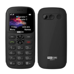 "Maxcom MM471 Dual SIM 2.2"" with Large Buttons"