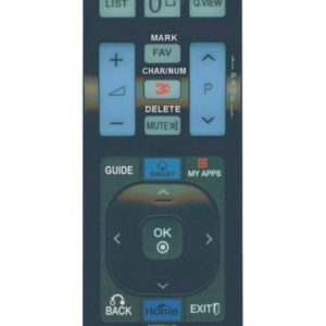 Remote Control Noozy RC6 for LG TV Ready to Use Without Set Up