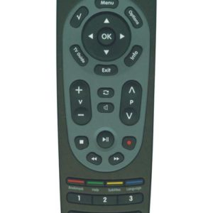 Remote Control Noozy RC7 for Nova Decoder Box Ready to Use Without Set Up