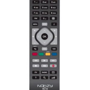 Remote Control Noozy RC10 for Cosmote TV Decoder Box Ready to Use Without Set Up