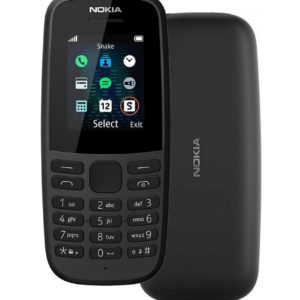"Nokia 105 (2019) 4th Edition Dual Sim 1.77"" Black GR"