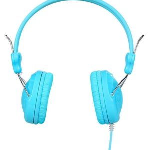Headphone Stereo Hoco W5 Manno 3.5mm Blue with Microphone and Operations Control Button