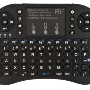 Wireless Keyboard and Remote Keywin Mini Rii i8+ for Smartphone