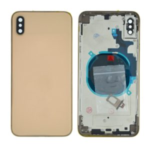 Battery Cover with Frame for Apple iPhone XS Max Gold with Accessories OEM Type A