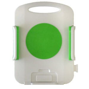 Universal Car Mount Ancus Green - White for Tablet 7'' to 10.1'' Inches