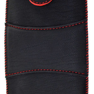 Case Velcro for Vodafone Smart prime 7 Black with Red Sticking