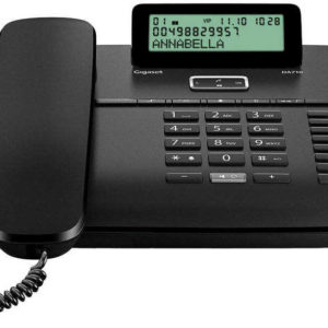 Telephone Gigaset DA710 Black