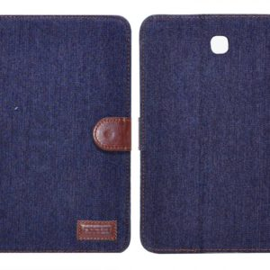 Book Case Ancus Teneo Fabric for Samsung SM-T350 Galaxy Tab A 8.0 Dark Blue