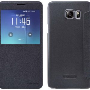 Book Case S-View Nillkin Sparkle Leather for Samsung SM-N920F Galaxy Note 5 Black with active S-View