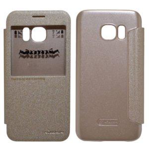 Book Case S-View Nillkin Sparkle for Samsung SM-G930F Galaxy S7 Gold
