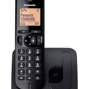 Dect/Gap Panasonic KX-TGC210GRB Black with Speakerphone