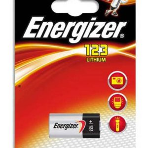 Battery Lithium Energizer CR123 3V Pcs. 1
