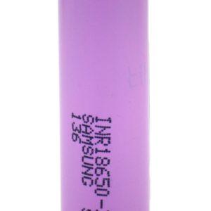Rechargable Ιndustrial Τype Βattery Samsung 18650 INR18650-30Q Li-ion 3.7V 3000mAh 15A