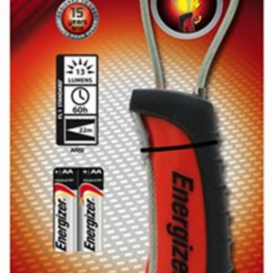 Torch Energizer WorkPro 1 Led 13 Lumens with Batteries 2 x AA Black
