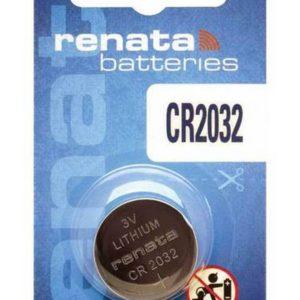 Buttoncell Lithium Electronics Renata CR2032 Pcs. 1