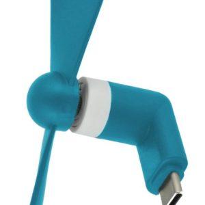 USB Type-C Mini Fan Ancus Blue