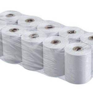 Thermal Paper Rolls for Receipt Printers 80x75mm 75m 48gr 10 Pcs