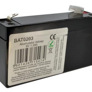 Battery for UPS Vipow LP1.3-6 (6V 1.3 Ah) 0.29 kg 96mm x 24mm x 51mm
