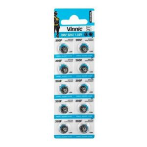 Buttoncell Vinnic 395F SR57 Pcs. 10 with Perferated Packaging