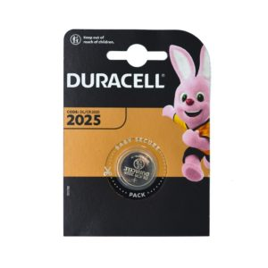 Buttoncell Lithium Duracell CR2025 Pcs. 1