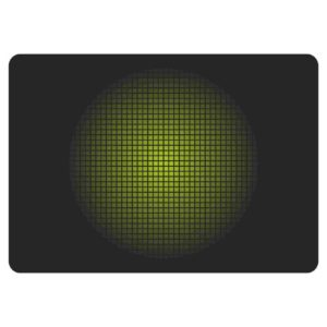 Gaming Mousepad iMICE Green Non-Slip 300x250mm Black