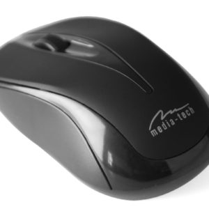 Wired Mouse Media-Tech MT1091G 800cpi with 3 Button with Scrolling Wheel Black