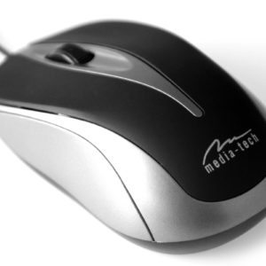 Wired Mouse Media-Tech MT1091S 800cpi with 3 Button with Scrolling Wheel Black-Titanium